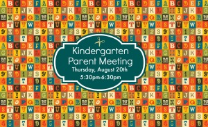 Kindergarten Grade Meeting